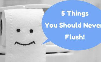 5 Things You Should Never Flush