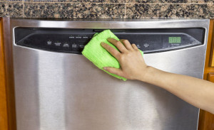 By cleaning the outside and inside of your dishwasher, it will help it run better.