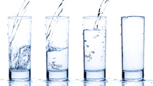 When there are white spots on your drinking glasses or other objects, it could be an effect of your hard water.