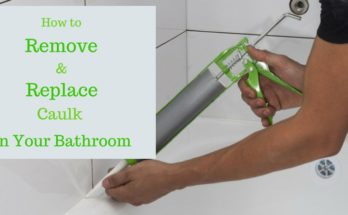 How to remove and replace caulk in your bathroom