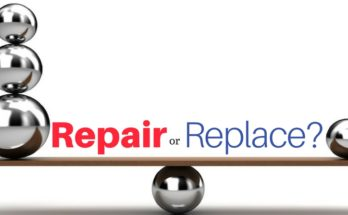 Repair or Replace broken plumbing