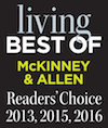 McKinney and Allen Best of Living reader's Choice