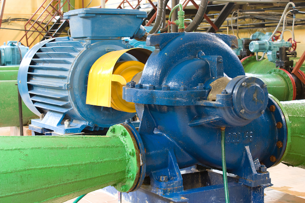 industrial size water pump