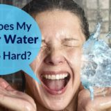 why does my shower water feel so hard?
