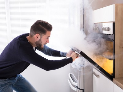 Cooking appliances are the biggest cause of gas leaks.