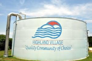 Water Tank Highland Village