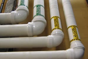 PVC piping joints