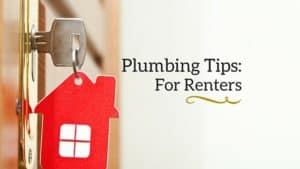 Renters should follow plumbing tips.
