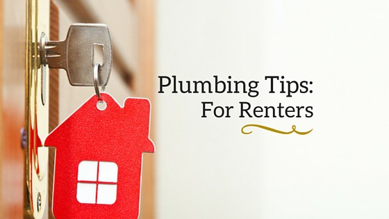 Renters should follow plumbing tips.