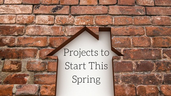 There are a variety of projects to do this spring