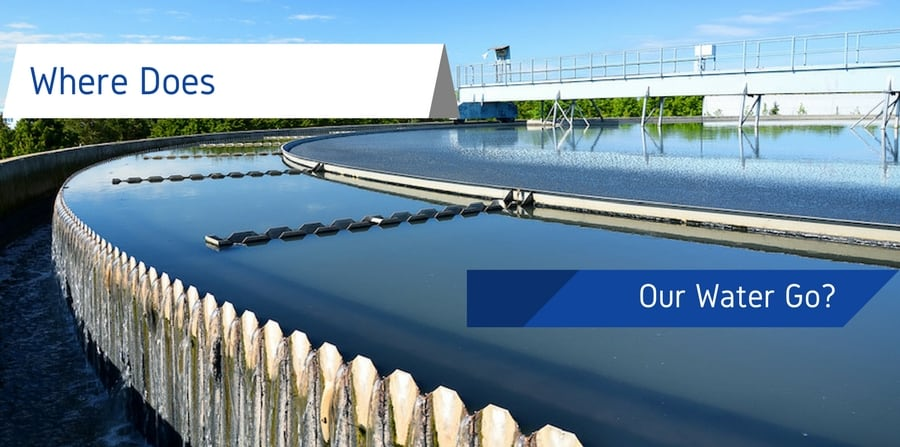 "Wastewater processing facility in Texas. ""Where Does Our Water Go?"""