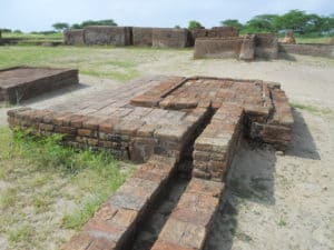 The Indus Valley Civilization's capital city Lothal features the first running toilets in history