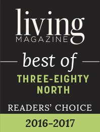 Living Magazine best of: Three-Eighty North Readers' Choice 2016-2017