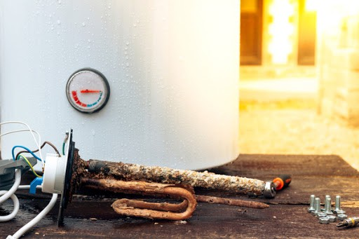 how to address sediment build-up in your water heater